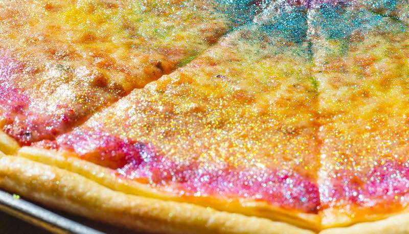 Rainbow Glitter Pizza Is A Thing And You Can Get It In Santa Monica