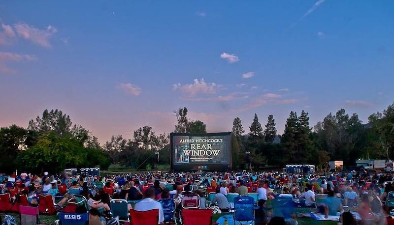 Kick Back & Relax At An Outdoor Movie During The Eat|See|Hear Summer Series
