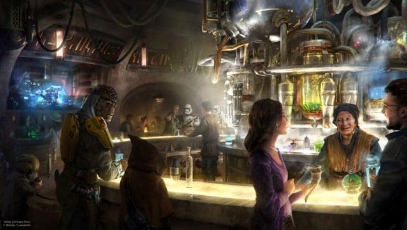 Disneyland Will Start Serving Alcohol Inside Its Incoming Star Wars Bar
