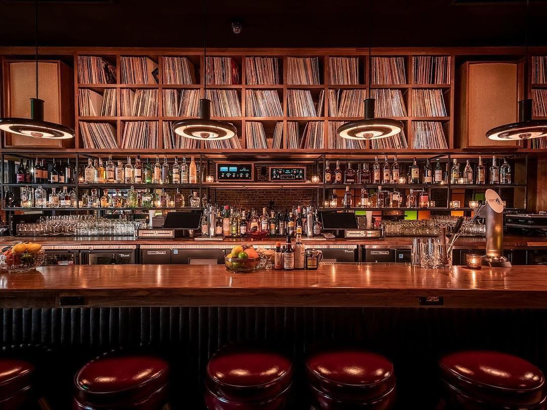 Capture The Sound Of Highland Park At This New Cocktail Lounge • Gold Line Bar