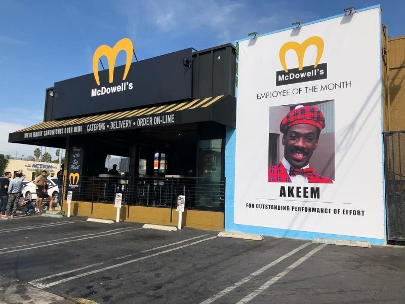 'Coming To America' Is Celebrating Its 30th Anniversary With A Restaurant Pop-Up
