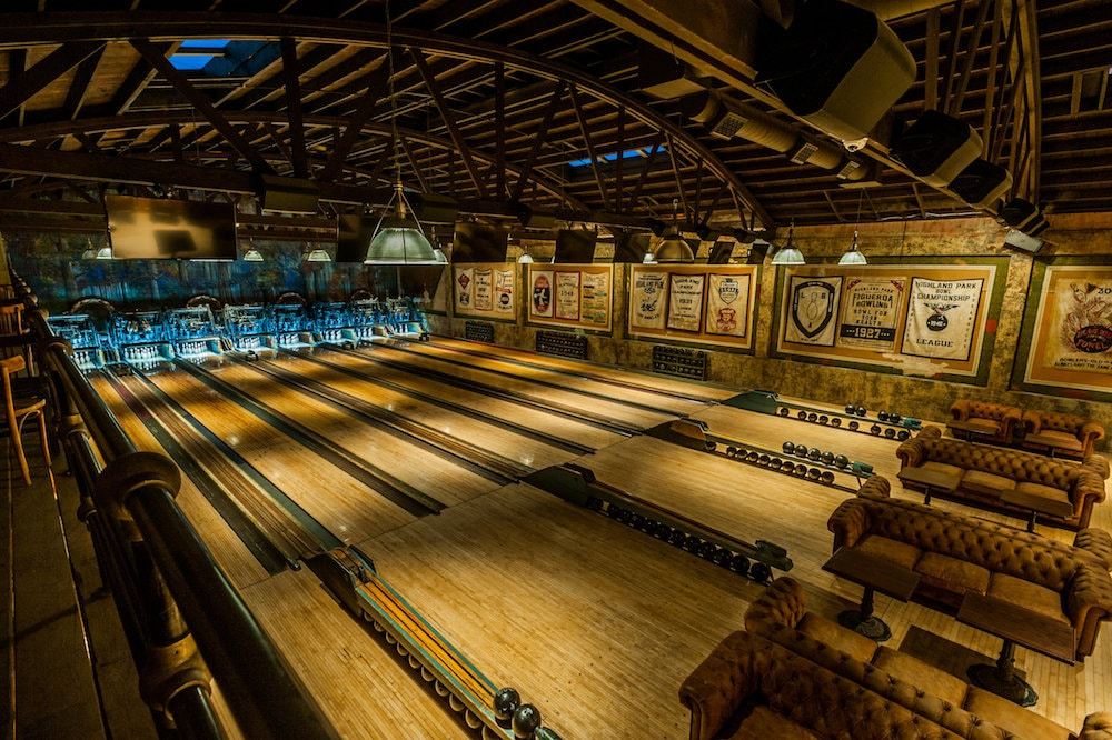 L.A.'s Oldest Bowling Alley Is So Pretty It Hurts • Highland Park Bowl