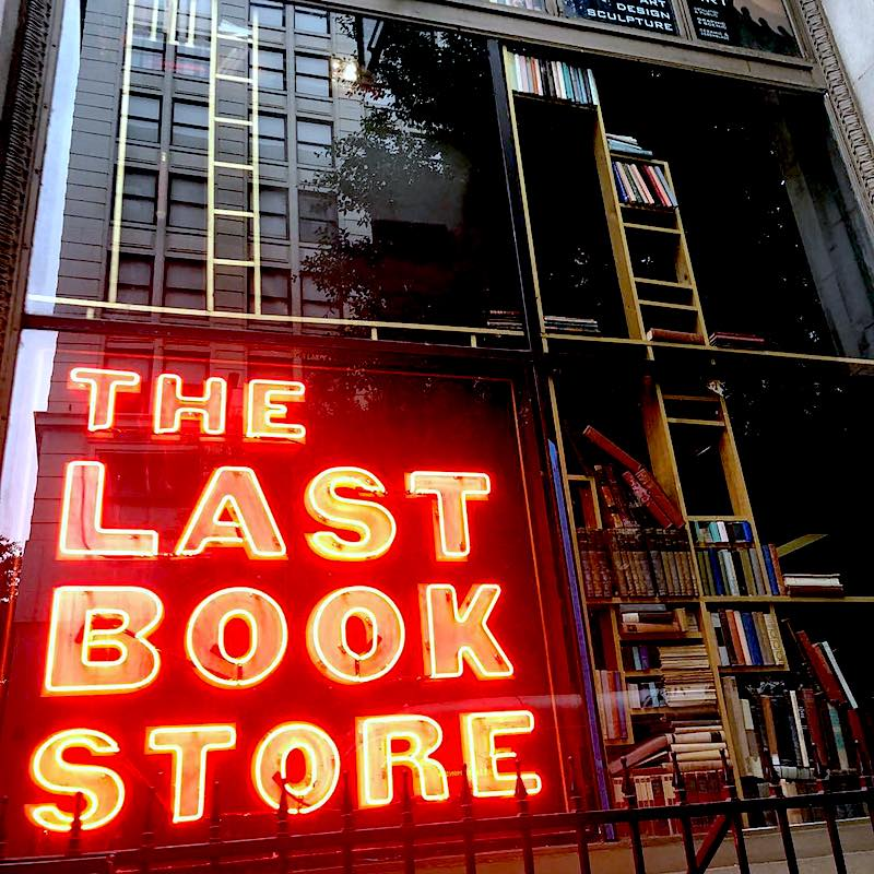 Last Book Shop Los Angeles