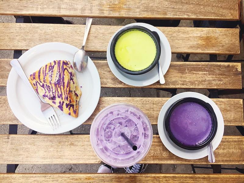 Ube Desserts Los Angeles