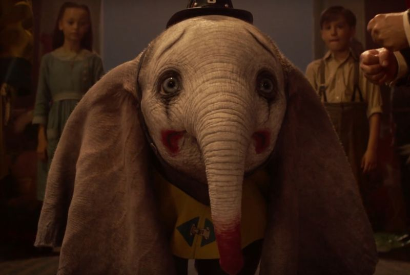 Chances Are You Won't Make It Through This Live-Action Dumbo Trailer Without Crying
