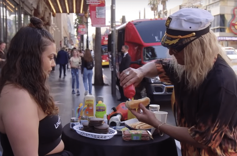 This Disguised Celebrity Tricked Hollywood Pedestrians Into Believing They Ate Cannabis-Infused Food
