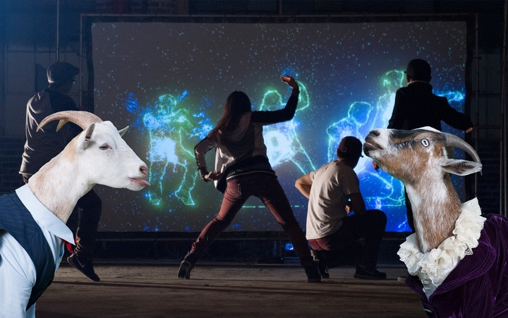 Clear Your Schedule Because A Magic Goat Dance Party Is Going Down This Weekend