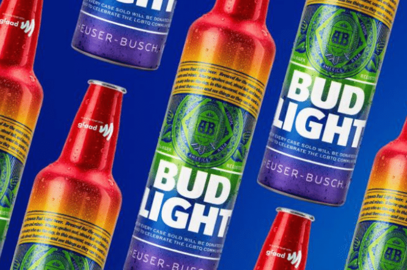 Bud Light Is Selling Beer In Rainbow Bottles In Honor Of Pride
