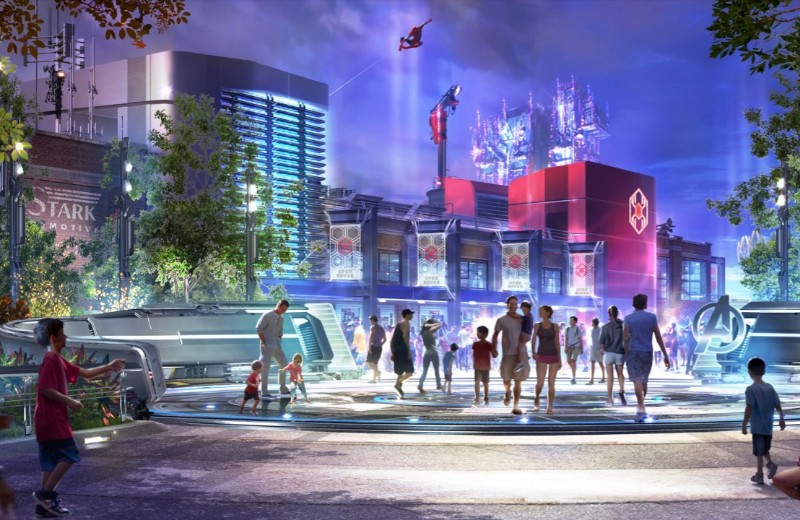Marvel-Themed Land At Disney's California Adventure Park Coming Soon