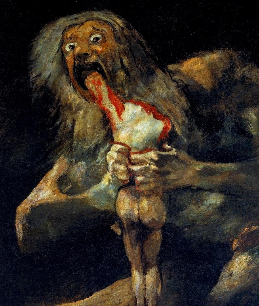Goya Black Fresco