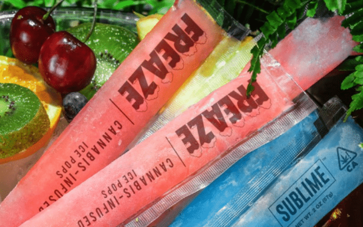 Weed Infused Ice Pops Are A Thing This Summer And They're Redefining 'Chill'