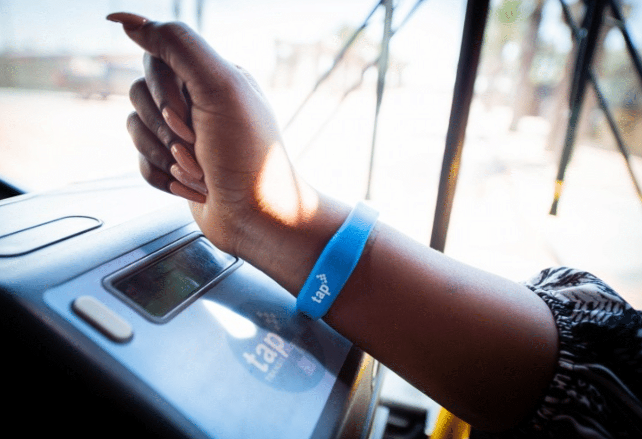 You Can Now Hop On The Metro With Just The TAP Of A Wrist