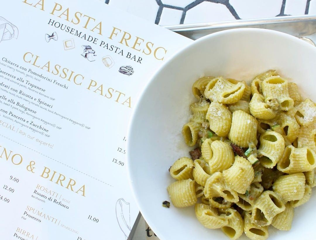 Have Your Dish Made Right Before Your Eyes At Eataly's New Pasta Bar