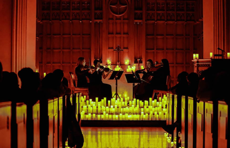 Experience The Magic Of Classical Music By Candlelight In A Stunning L.A. Church
