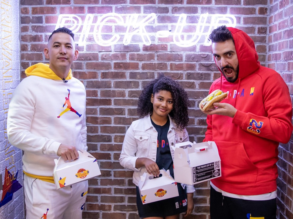 Stop By The Michael Jordan Food Pop-Up At The Giant Foot Locker In Hollywood This Weekend