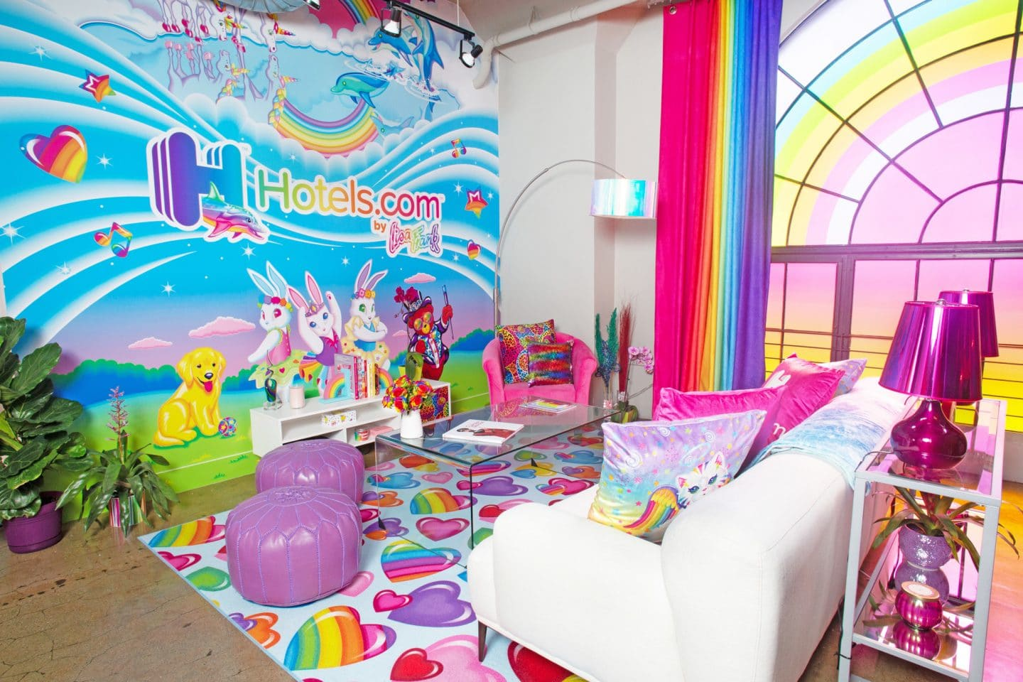 Hey '90s Babies – A Lisa Frank Hotel Is Popping Up In DTLA This Month!