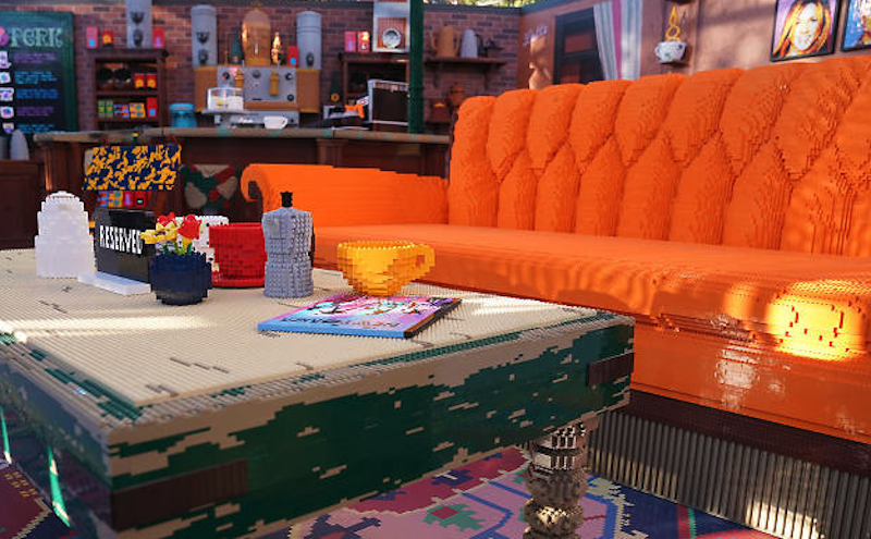 Visit A Lego Replica Of Central Perk From 'Friends' In Santa Monica This December