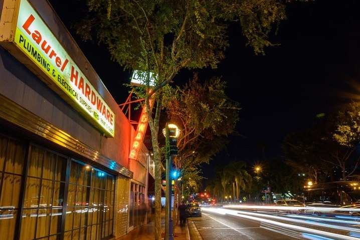 """You'd Never Guess That This """"Appliance Store"""" Is Actually A Chic WeHo Eatery • Laurel Hardware"""