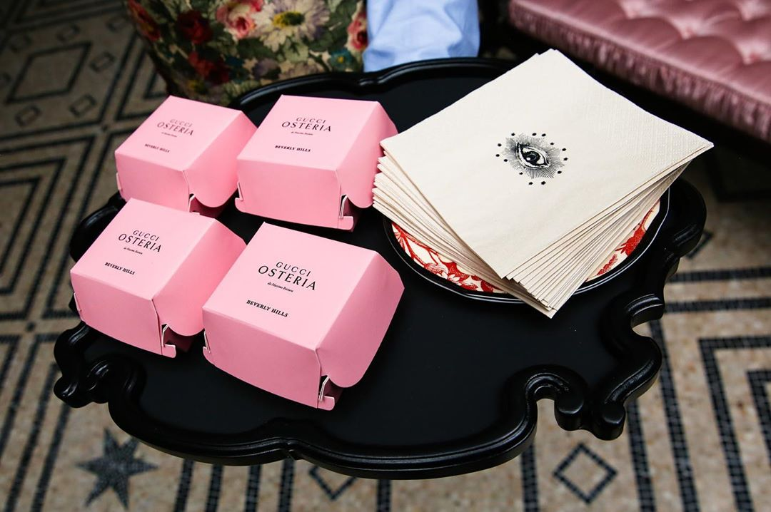 Gucci Launched Its First U.S. Restaurant Above The Iconic Rodeo Drive Shop • Gucci Osteria