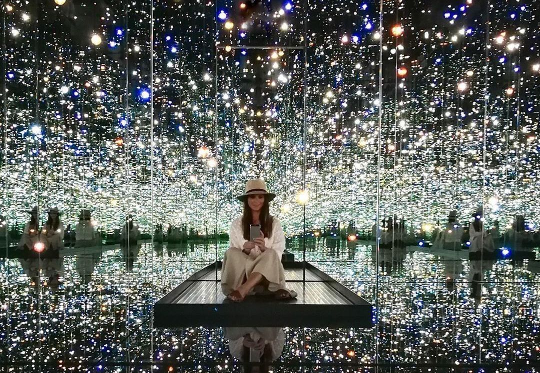 Catch The Broad's Livestream Of Yayoi Kusama's Infinity Room