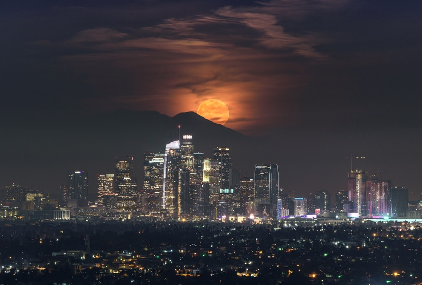 Hey Stargazers: Be On The Lookout For The 'Super Worm Moon' Later This Evening!