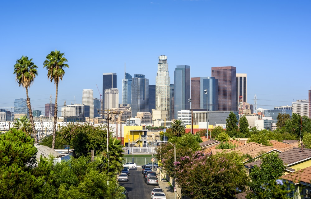L.A. Air Is Exceptionally Clear Now That Millions Of Angelenos Are Staying Home
