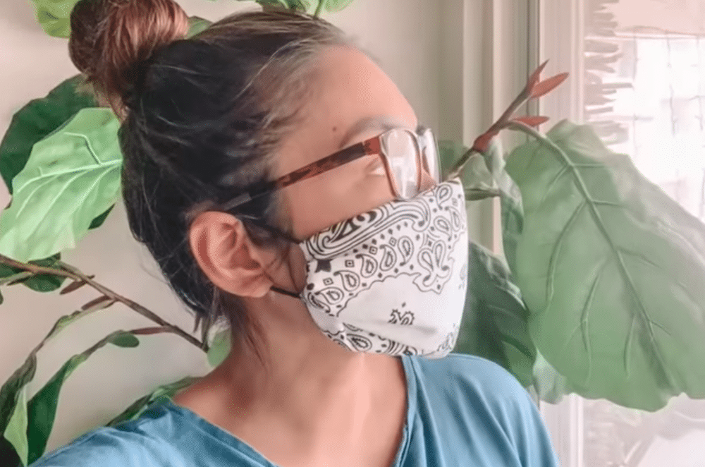 Life Hack To Making A Protective Coronavirus Face Mask At Home