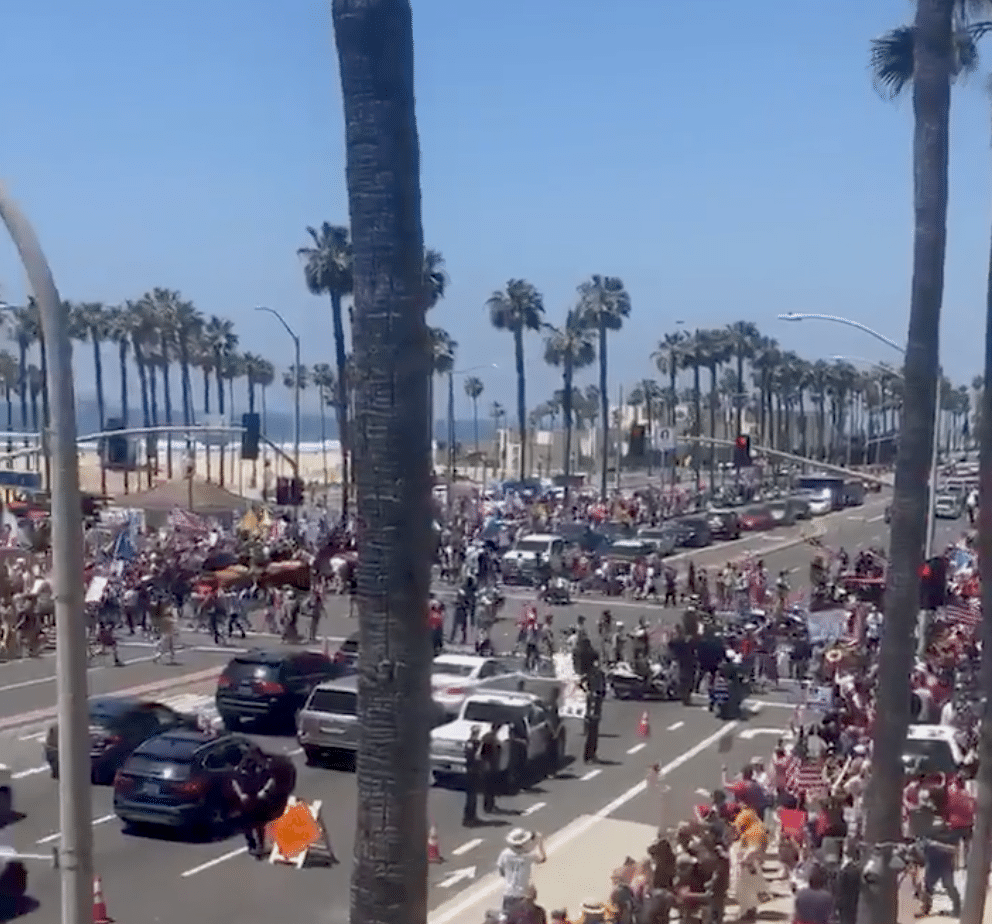 beach protests
