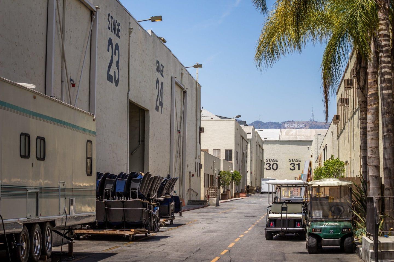 filming california