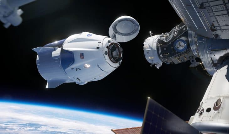 SpaceX's New Spaceship Has Made History By Docking To The International Space Station