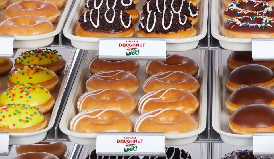 Krispy Kreme Is Giving You A Free Doughnut From Monday To Friday For National Doughnut Week