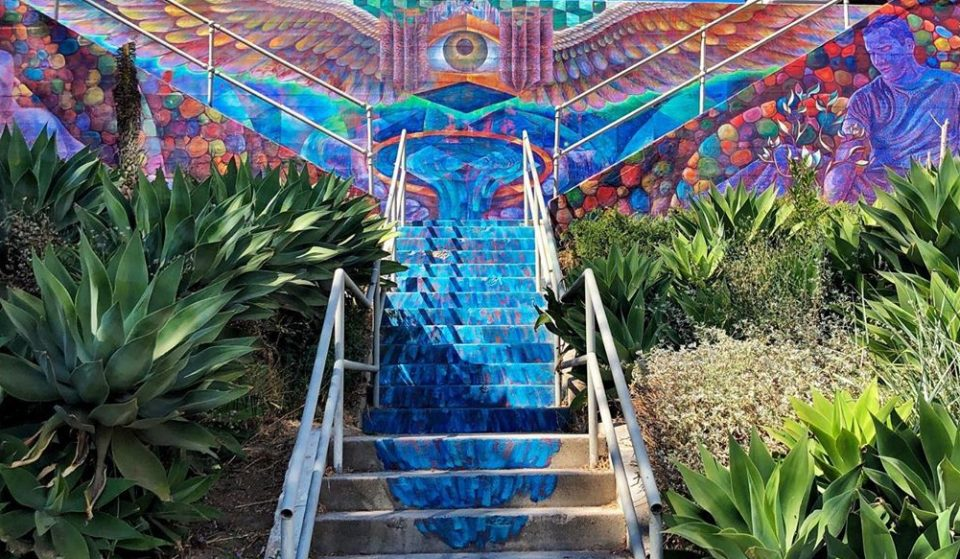 5 Amazing Painted Stairways To Climb Around L.A.